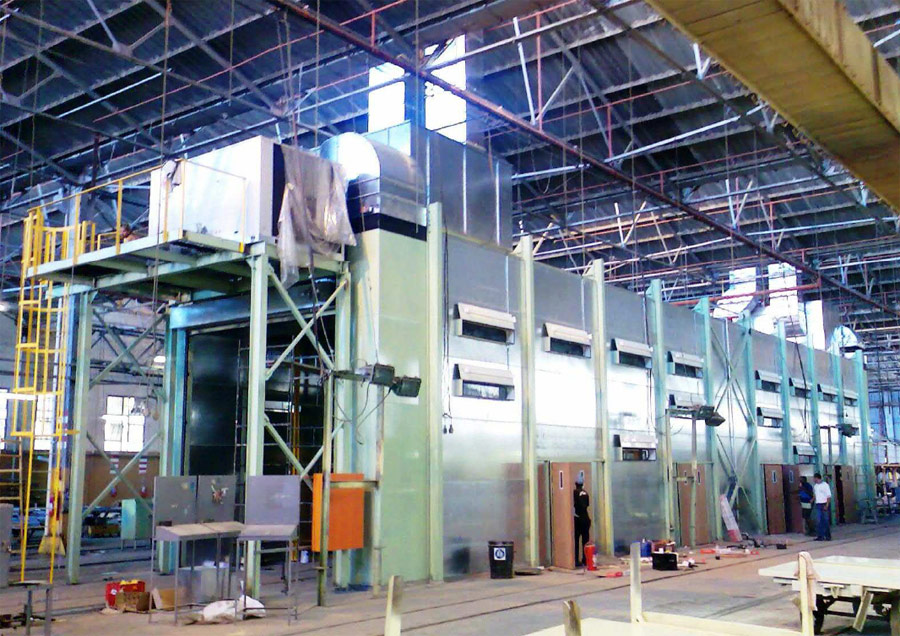 Dust Free Paint Extraction Booth System Our Projects