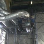 dust vacuum system ducting