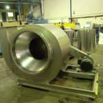 centrifugal fume extractor fan
