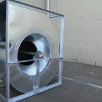 extractor fan housing for smoke, dust & fume extraction