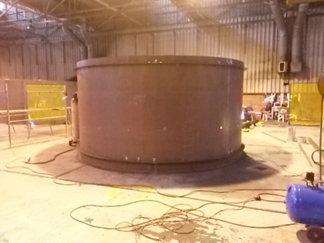 Fabrication & Installation of Large Scale Silos & Hoppers